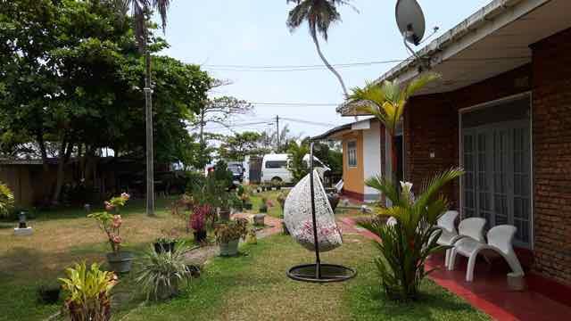 Garden in Villa